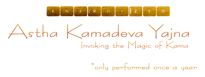 Invoking the 8 forms of Kamadeva